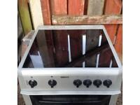 Silver Beko 60cm Ceramic Cooker