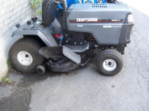 LAWNMOWERS AND TRAILER