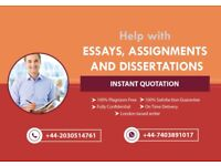 EXPERT HELP - DISSERTATION / ASSIGNMENT / PROPOSAL / ESSAY / COURSEWORK/WRITING -PROOFREAD & EDITING