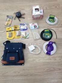 Miscellaneous DIY kit / material cable/window bolts /consumer fuse unit