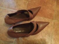 Roland Cartier - candy taupe shoes