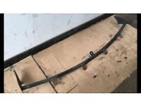 Land Rover roof mounted light bar