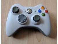 Xbox 360 white controller, good working order