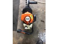 Stihl HS86R petrol hedge cutter 30 inch cut with tip protector excellent working order