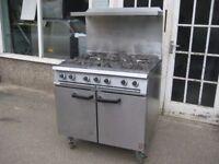Falcon 6 burner cooker range gas LPG new oven thermostat.
