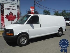 2016 GMC Savanna 2500 Extended Length Cargo Van - 10,492 KMs