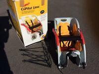 CoPilo Limo Child's Bicycle Seat - excellent condition