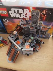 Lego 75137 Carbon Freezing Chamber Star Wars with box and instructions