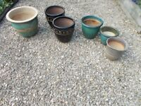 Collection of Garen Pots
