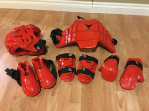Child's Sparring Gear Equipment