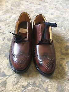 GREB STEEL TOE  LEATHER SHOES 10'