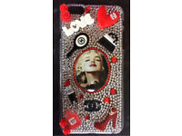 Customised Marilyn Bling iPhone 6plus case