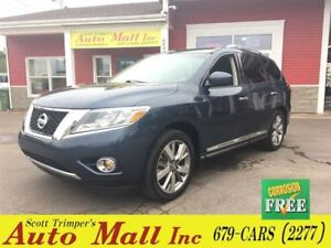 2013 Nissan Pathfinder Platinum/DVD/SUNROOF