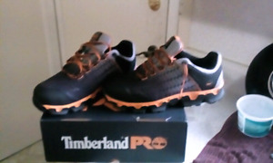 BRAND NEW SIZE 11 WIDE Timberland Pro Hard toe Shoes