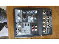 2 way behringer mixer