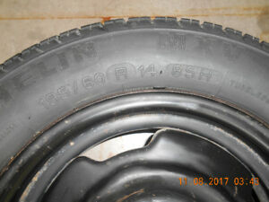 1 Michelin MXV  195/60 R14 85H on Ford Rim