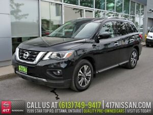 2017 Nissan Pathfinder SV | 7-Passenger, Rear Camera, Htd Seats
