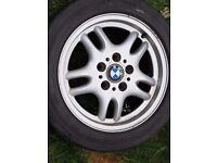 BMW ALLOYS 16INCH SET OF 4 IMMACULATE UNMARKED ALLOYS