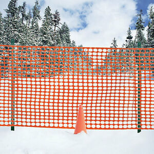 SNOW & BARRIER FENCE CLEARANCE SALE