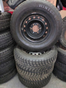 265/70R17 Winter Claw Extreme Grip MX Winter Tires on Wheels