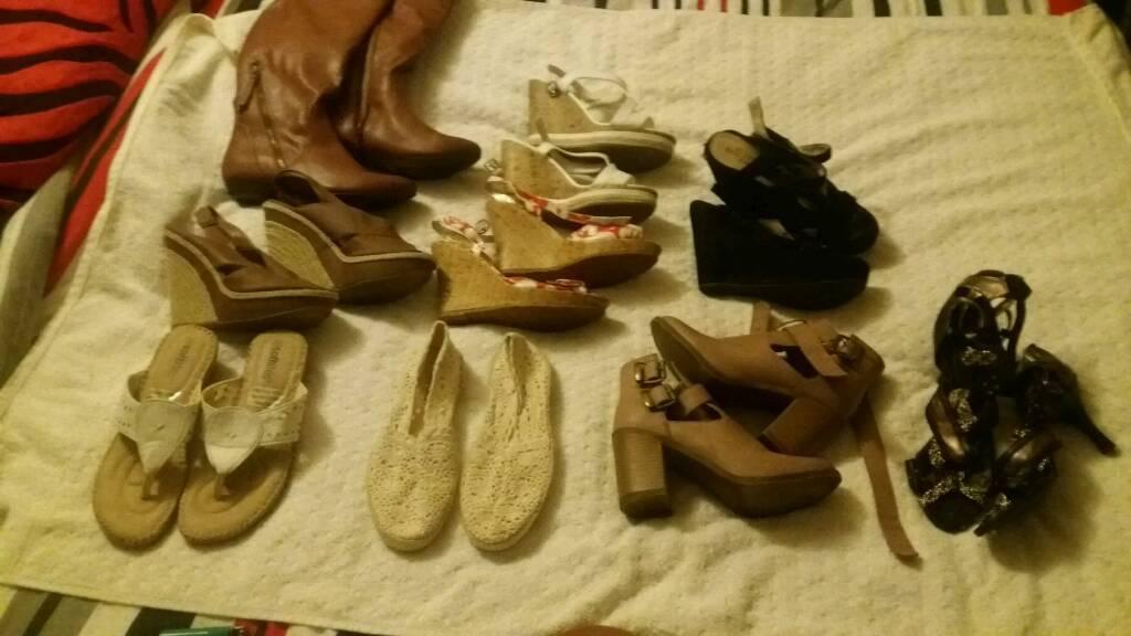 Women's shoes job lot