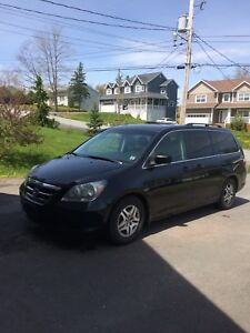 2007 Honda Odyssey-Leather, DVD etc.