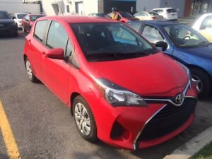 Transfert de bail / Lease transfer Toyota Yaris Hatchback 2016