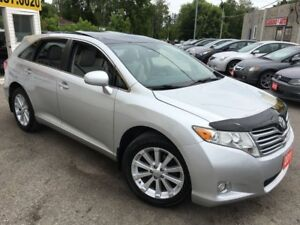 2011 Toyota Venza AWD/BACKUPCAMERA/LEATHER/ROOF/LOADED/ALLOYS