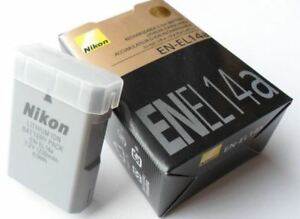 Nikon EN-EL14a camera battery, BNIB