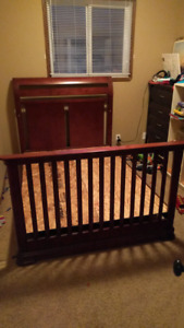 Babies R Us convertible crib/toddler bed/double bed