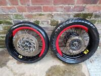 Crf Supermoto wheels