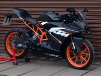 KTM RC 125 ABS 2016. Only 4322miles. Delivery Available *Credit & Debit Cards Accepted*