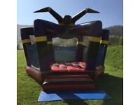 Large 18x18 commercial grade spider style bouncy castle