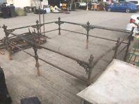 Antique cast iron railings