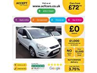 Ford S-MAX Titanium FROM £72 PER WEEK!