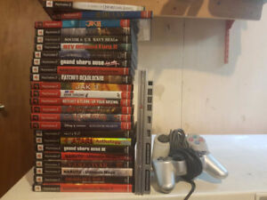 Playstation 2 console. Few scratches