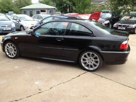 "06 REG BMW 325I M SPORT AUTOMATIC 18""ALLOYS 69800MILES £5500"