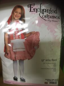 3T-4T Little Red Riding Hood Costume