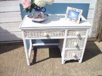 Vintage Cane dressing table
