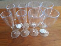 Picnic Wine Glasses & Champagne Flutes