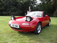 Mazda MX5 MK1 UK Spec 1992 ***High Spec! MOT 03/2018!***
