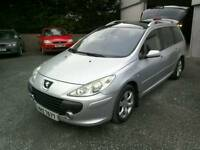 06 Auto Peugeot 307 SE 5 door Estate Moted May 18 clean car 2 keys ( can be viewed anytime)
