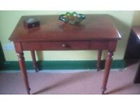 Classic single drawer Console Table.