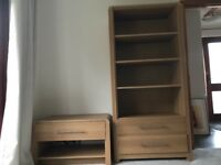 Hygiene Stand Oak Display cabinet and TV unit