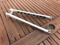 Seatstays - NUKEPROOF MEGA TR275 XL Frame - Silver + Lower Pivot Bolts