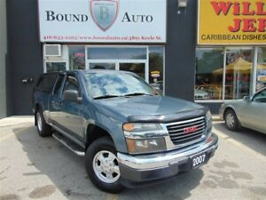 2007 GMC Canyon SL-4X2,EXTENDED CAB,ALLOYS,ACCIDENT FREE