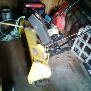 John Deere Snow Thrower for tractor