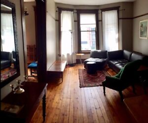 Downtown Furnished 2 Bdrm Available (heat and water incl)