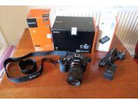 Sony a7R 36.4 Megapixels camera + Zeiss Sonnar T* FE 55mm F1.8 lens