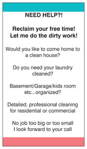 Professional cleaning, detailing and organizing
